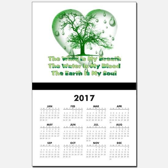 Earth Connection Calendar Print