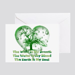 Earth Connection Greeting Card