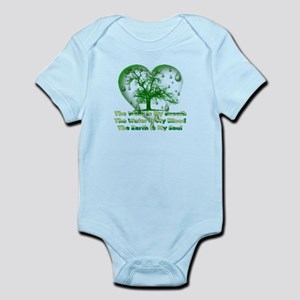 Earth Connection Baby Light Bodysuit