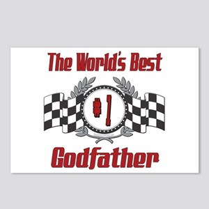 Racing Godfather Postcards (Package of 8)
