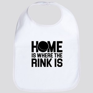 Where the Rink Is Baby Bib