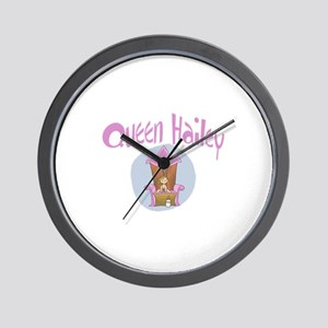 Queen Hailey Wall Clock