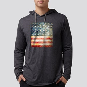Stars over Stripes Vintage Long Sleeve T-Shirt