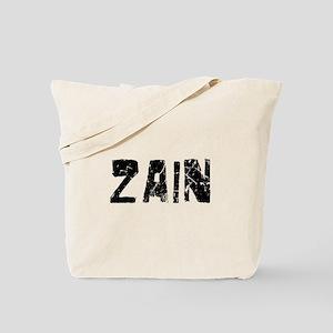 Zain Faded (Black) Tote Bag