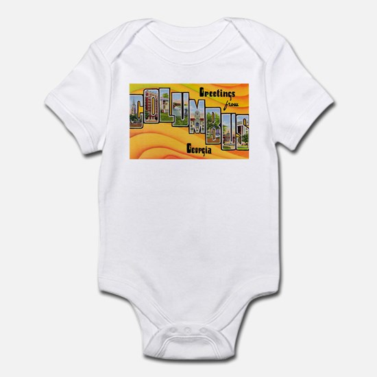 Columbus Georgia Greetings Infant Bodysuit