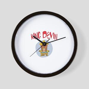 King Devin Wall Clock
