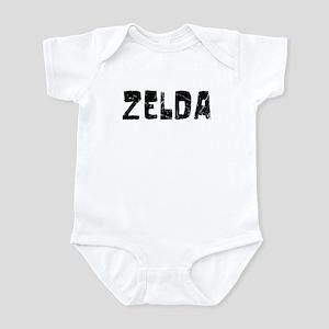 Zelda Faded (Black) Infant Bodysuit