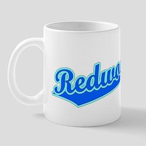 Retro Redwood City (Blue) Mug
