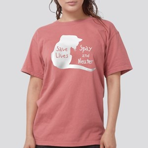 Save Lives (Cat) Women's Dark T-Shirt