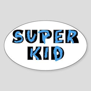 Super Kid Oval Sticker