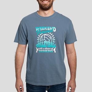 Weekend Forecast Volleyball Shirt T-Shirt