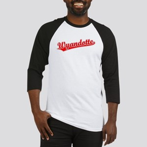 Retro Wyandotte (Red) Baseball Jersey