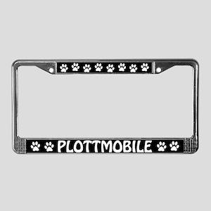 Plottmobile License Plate Frame
