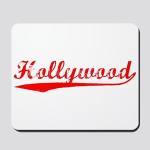 Vintage Hollywood (Red) Mousepad