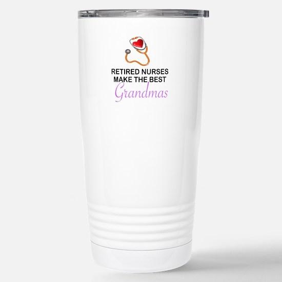RETIRED NURSES - BEST GRANDMAS Mugs
