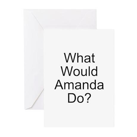 Amanda Greeting Cards (Pk of 20)