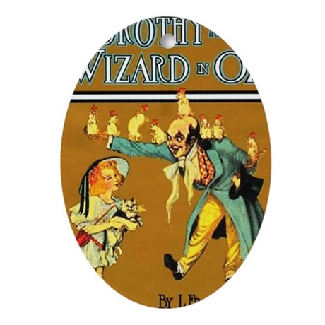 Dorthy / Wizard Oval Ornament