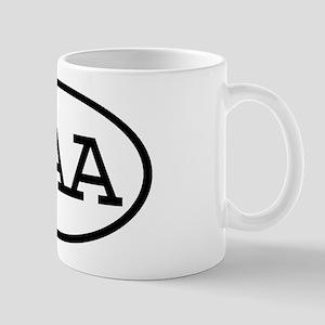 OAA Oval Mug