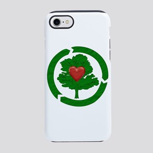 Recycle Earth Heart iPhone 8/7 Tough Case