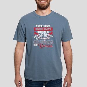 Grandmas Ride Horse T Shirt T-Shirt