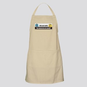 Hide Your Wallet BBQ Apron