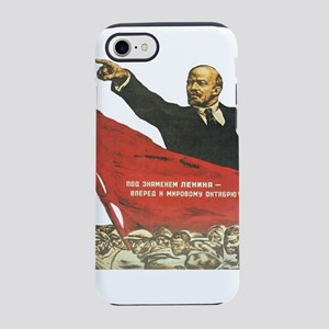 Vladimir Lenin soviet propag iPhone 8/7 Tough Case