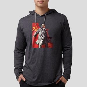 Lenin soviet union propaganda Long Sleeve T-Shirt