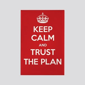 Trust the Plan Magnets