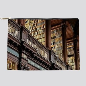 Classic Literary Library Books Makeup Bag