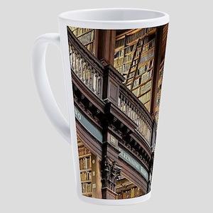 Classic Literary Library Books 17 oz Latte Mug