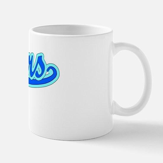 Retro Rogers (Blue) Mug