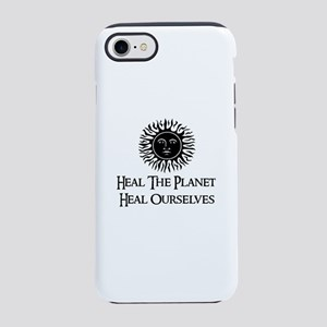 Heal The Planet Heal Ourselv iPhone 8/7 Tough Case