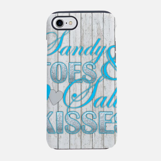 Sandy Toes and Salty Kisses iPhone 8/7 Tough Case