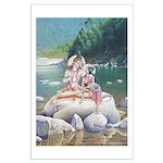 Shiva & Parvati Large Poster