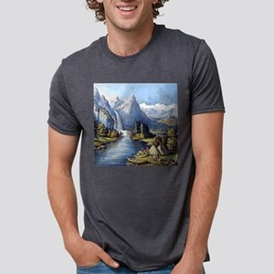 vintage native american landscape T-Shirt