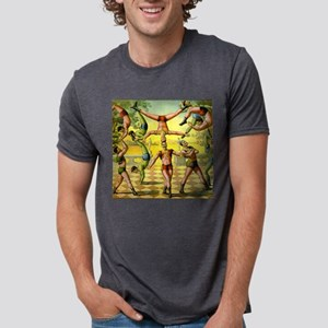 Vintage Circus Acrobatic Athletes T-Shirt