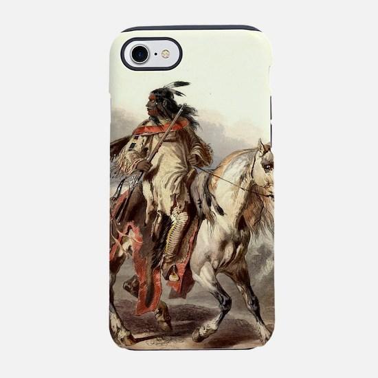 Blackfoot Native American Wa iPhone 8/7 Tough Case