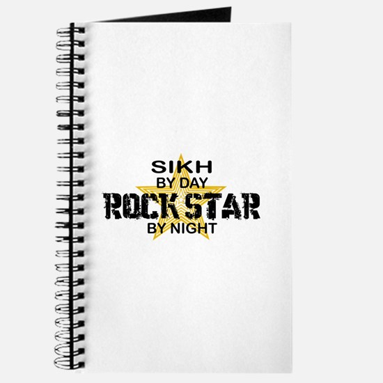 Sikh Rock Star by Night Journal