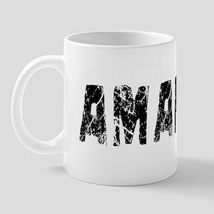 Amarillo Faded (Black) Mug