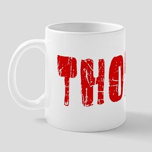 Thomas Faded (Red) Mug