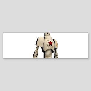 Robot soviet space propaganda Bumper Sticker
