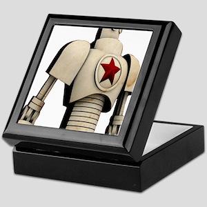 Robot soviet space propaganda Keepsake Box