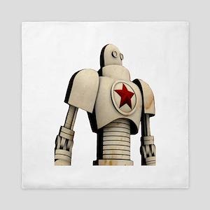 Robot soviet space propaganda Queen Duvet