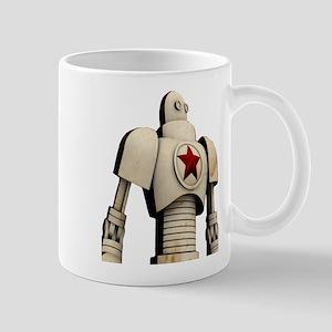 Robot soviet space propaganda Mugs