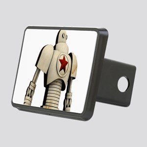 Robot soviet space propaga Rectangular Hitch Cover