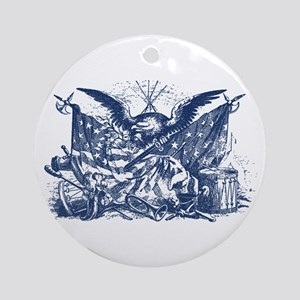 Historical Illustration I Ornament (Round)