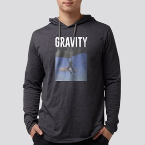 Gravity Is A Myth Rock Wall Cl Long Sleeve T-Shirt