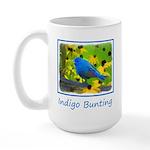 Indigo Bunting 15 oz Ceramic Large Mug
