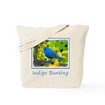 Indigo Bunting Tote Bag
