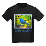 Indigo Bunting Kids Dark T-Shirt